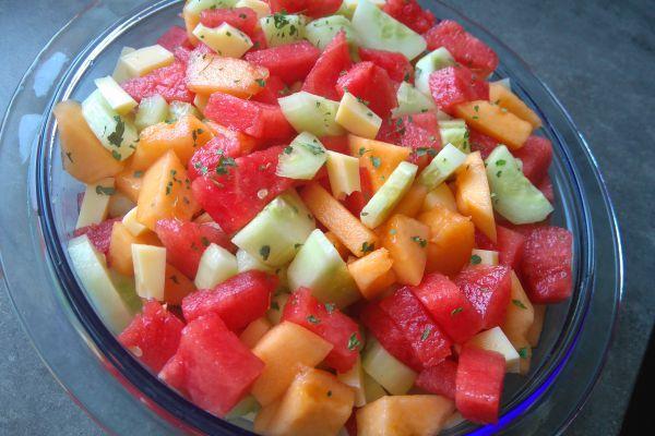 Recette Salade d'été