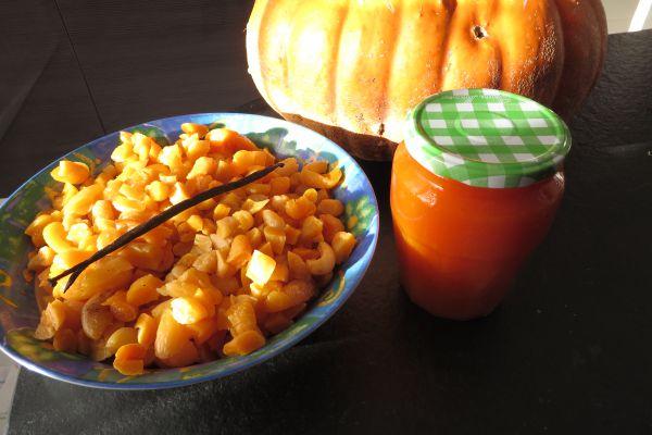 Recette Confiture de potiron aux abricots secs