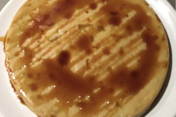 Clafoutis poires caramel (déclinable à toutes les sauces !)