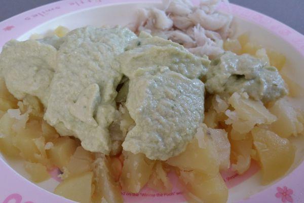 Pommes de terre aux choux de bruxelles