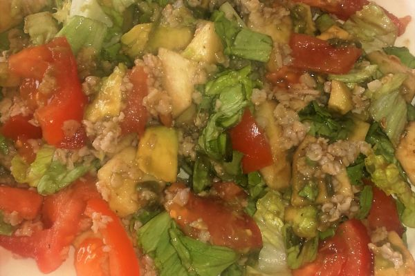 Recette salade estivale d'avoine
