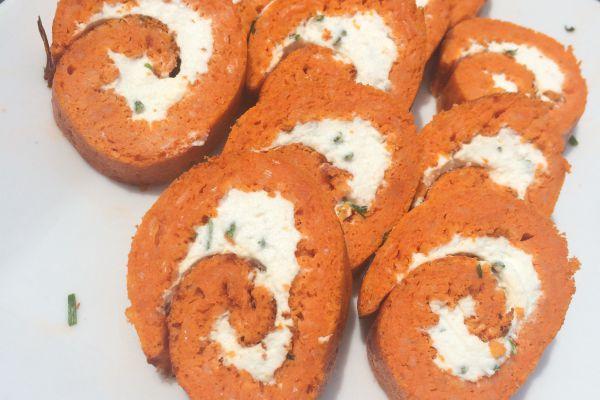 Recette Roulé tomate chèvre