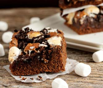 Brownies aux marshmallows