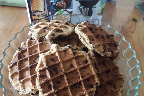 Recette Gaufres-cookies