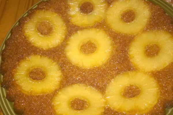 Recette gateau renverser ananas