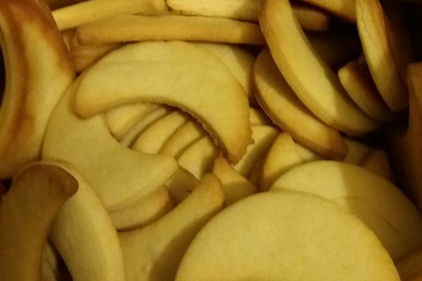 Recette Petit biscuits au lait concentré sucré