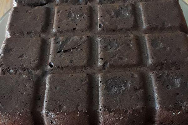 Recette Gateau chocolat(sans beurre avec courgettes à la place)