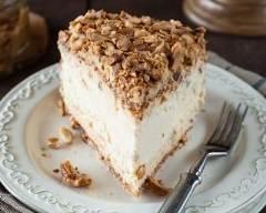 Recette Cheesecake surprise en croûte de noix et amandes