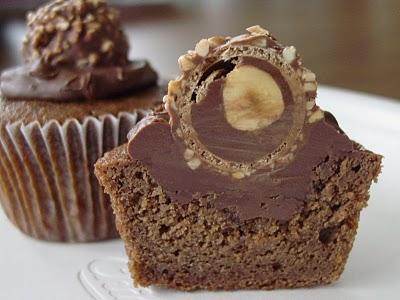 Recette Des cupcakes Ferrero rocher pour les gourmands