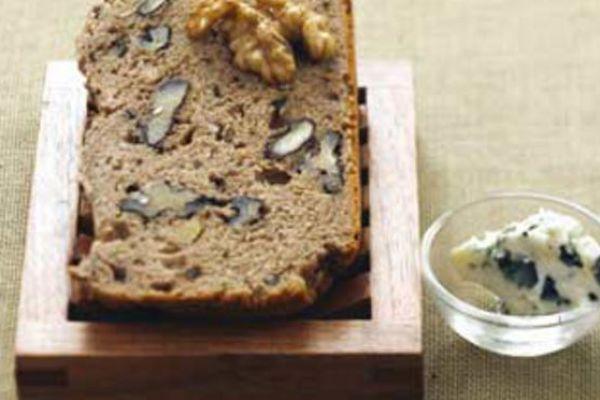Recette Pain au bleu d'Auvergne et aux noix (750 g)