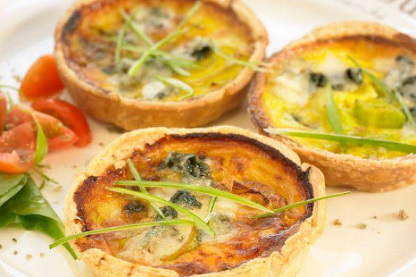 Recette Tartelettes roquefort et poireau