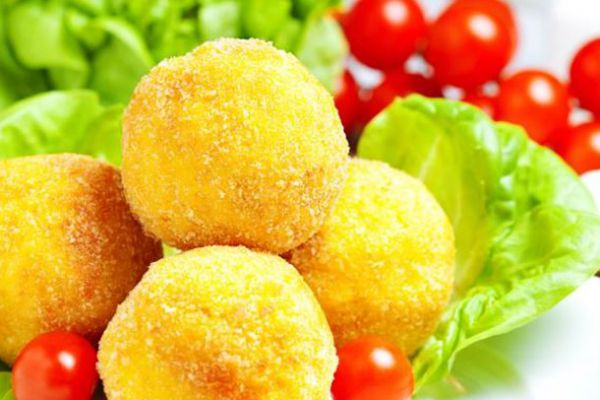 Recette Arancini (croquettes de risotto)