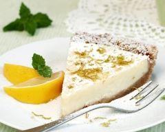 Recette Cheesecake aux biscuits, ricotta et citron