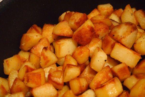 Recette Pomme de terre sautées