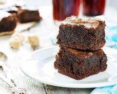 Brownies au chocolat au micro ondes