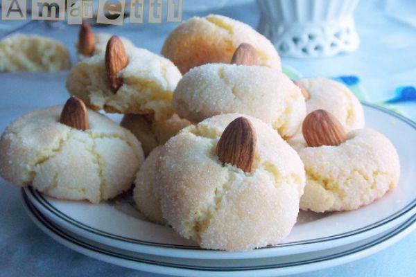 Recette Amaretti au citron et fleur d'oranger