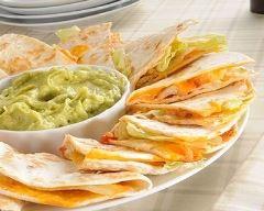 Recette Quesadillas au fromage