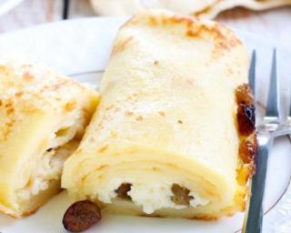 Recette Crêpes farcies au fromage blanc