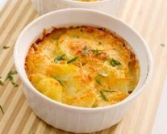 Recette Gratin de potiron et pommes de terre