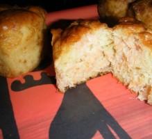 Recette Muffins saumon fumé et parmesan