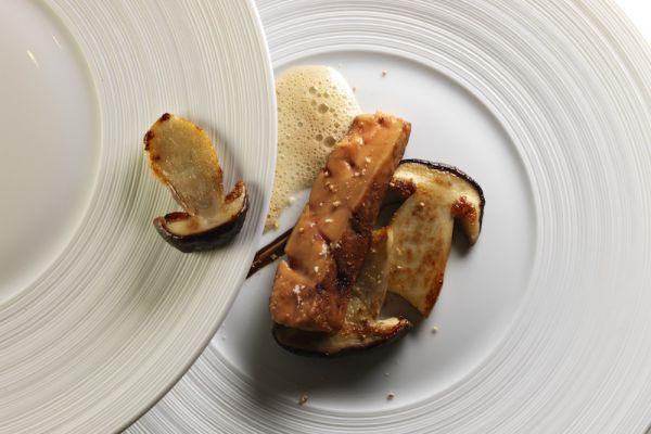 Foie gras poêlé aux cèpes