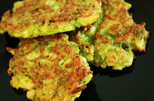 Recette galette de brocolis au parmesan
