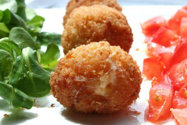 Recette Suppli, les boulettes italiennes au coeur coulant de mozza