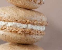 Recette Macarons à la vanille et au caramel beurre salé