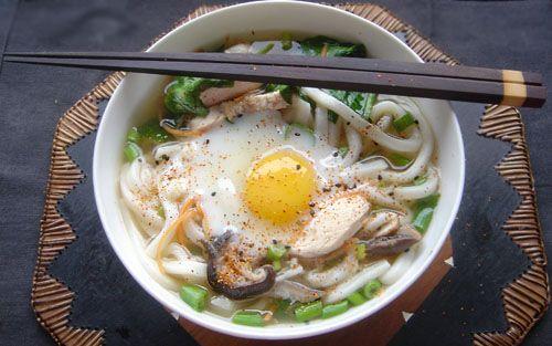 Recette Soupe aux nouilles udon