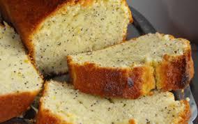 Recette Cake au citron et aux graines de pavot