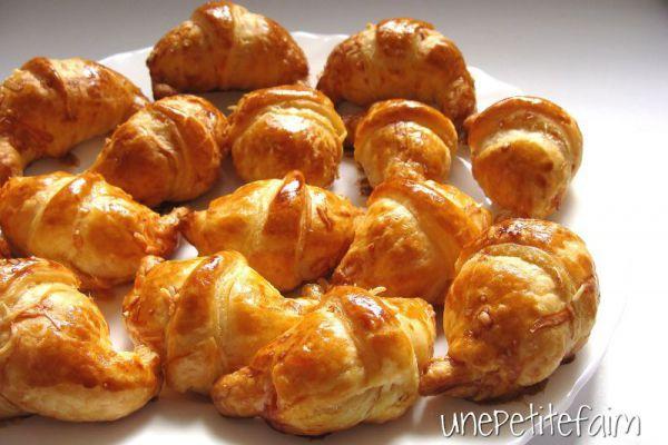 Recette mini croissants