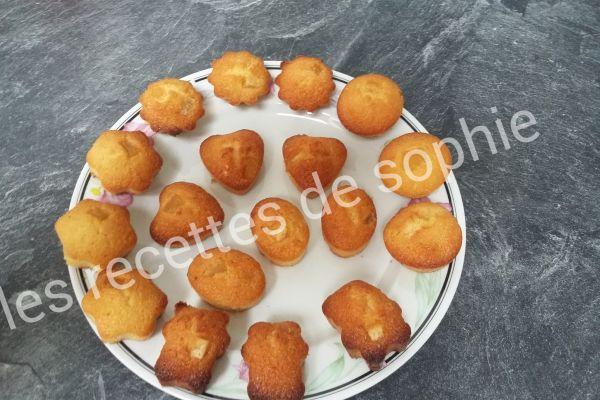Recette Mini financiers à l'orange