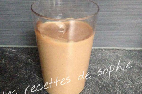 Recette crème danette au café
