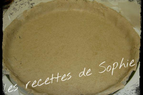 Recette Pâte brisée sans gluten version salée