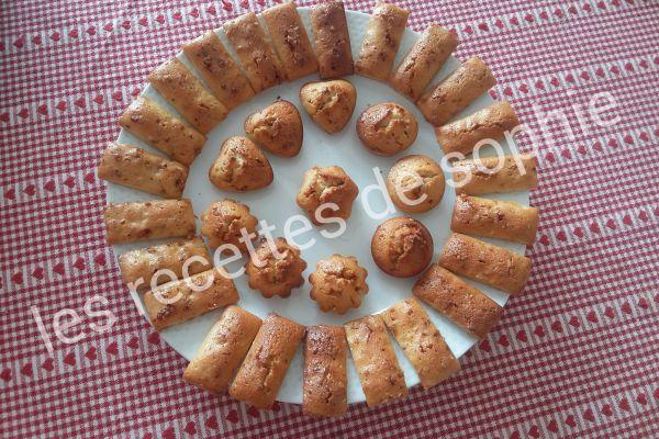 Recette Mini cake au pralin
