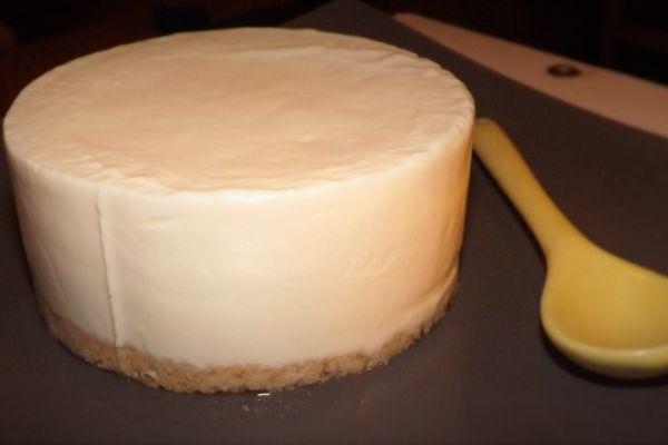 Recette Le Cheese-cake citron (sans cuisson)