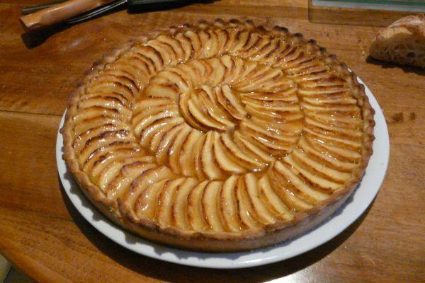 Recette La tarte aux pommes