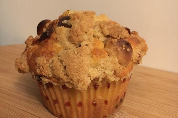 Recette THE muffins (macadamia et pépites de chocolat)