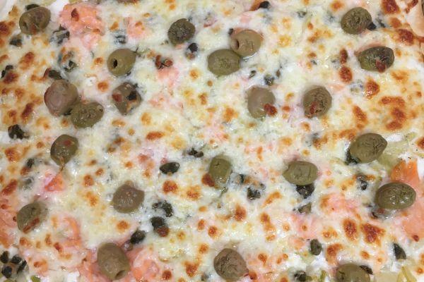 Recette Pizza fenouil/saumon fumé