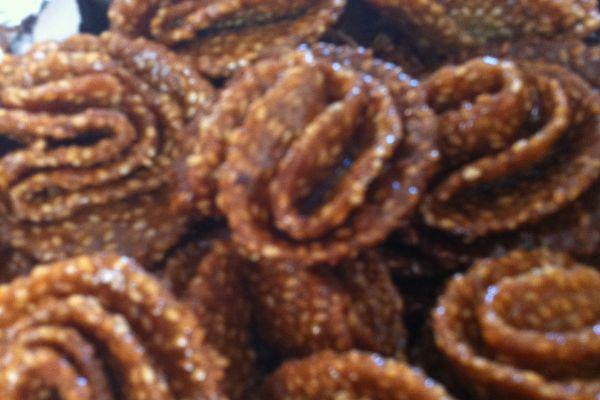 Recette Variante des blighates sesame-miel