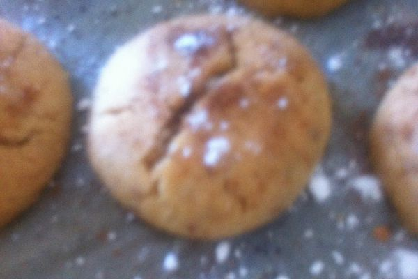 Recette mantecaos sablés aux cacahouetes parfumés à la cannelle