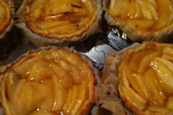 Recette Tartelettes pommes-poires