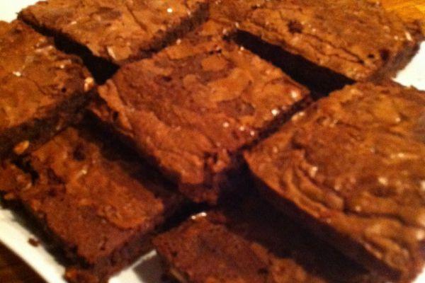 Brownie au chocolat noisettes