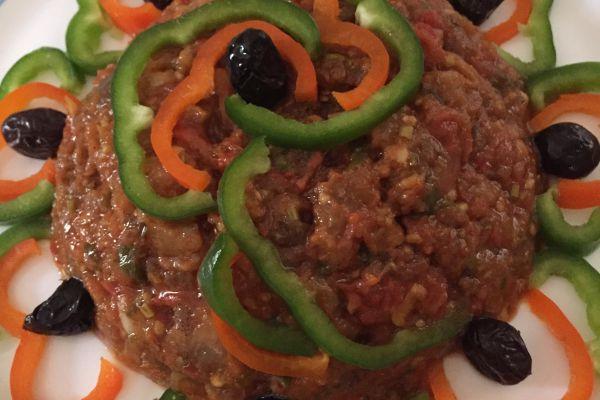 Recette Caviar d'aubergines à la marocaine