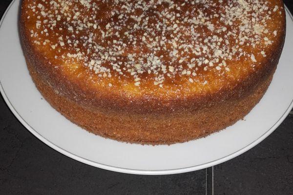 Recette Gâteau aux arachides
