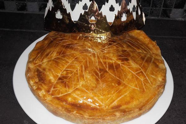 Recette Galette des rois a la crème d'amande