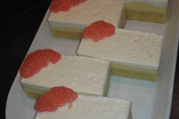Recette Gâteau au pamplemousse et à la fleure d'oranger