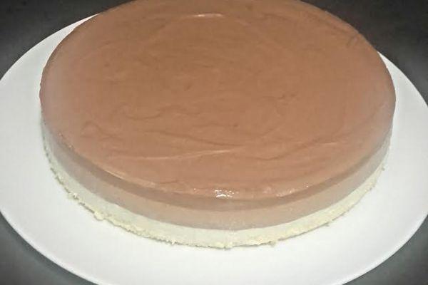 Recette Gâteau au trois chocolats