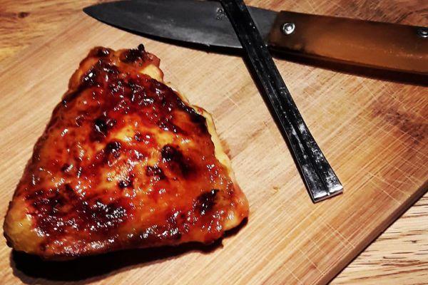 Recette Poulet croustillant au miel.