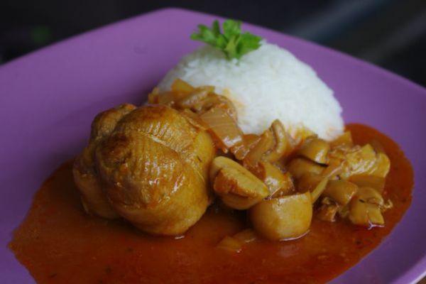Recette Paupiettes de porc à la tomate COOKEO